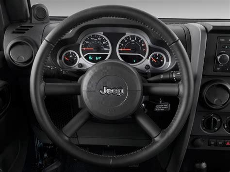jeep rubicon steering wheel image 2009 jeep wrangler 4wd 2 door rubicon steering