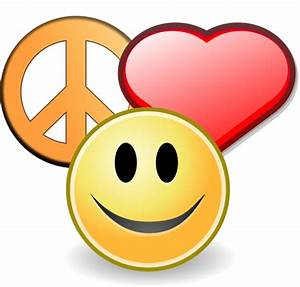 Smiley Face With Heart - ClipArt Best