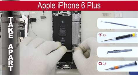 iphone 6 tutorial how to disassemble apple iphone 6 plus a1522 a1524