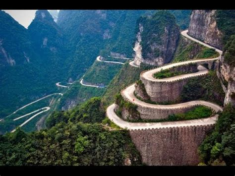 Top 10 Most Amazing Roads In The World Youtube