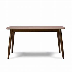 """Modern Mid-Century Solid """"Wood Dining Table"""" Kitchen ..."""