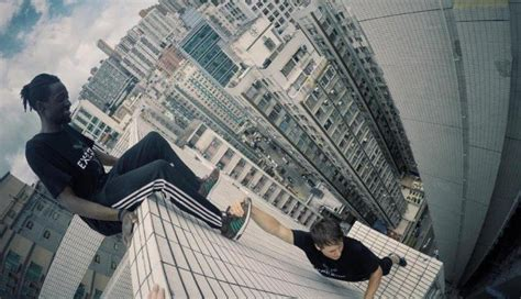hong kong parkour freerunners storror leap buildings blow minds south china morning post