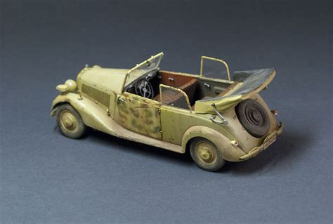 35107 German Car Type 170v Cabriolet B. + Leonid
