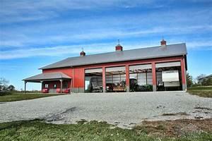 buffalo iowa post frame pole barn buildings greiner With barn builders iowa