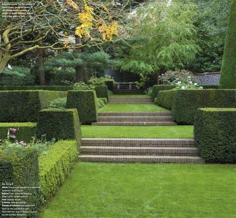Captivating Connecticut Garden by Belgian Garden Gardens Sloped Garden Terrace Garden