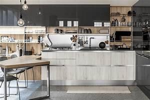 Falegnameria Costa Cucina Moderna In Rovere Sbiancato E Wengé