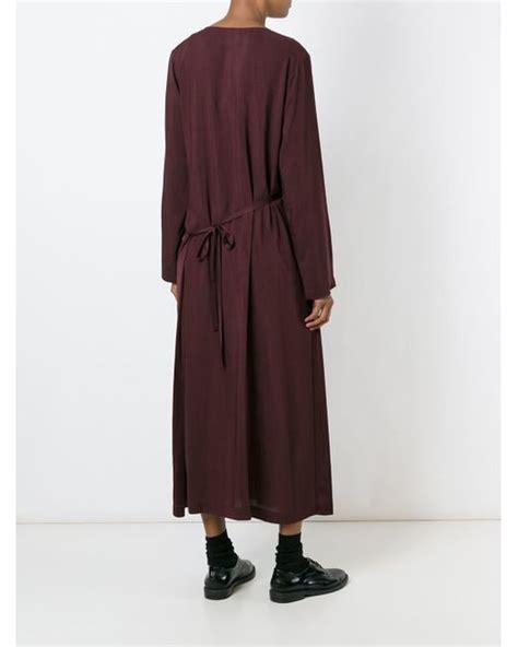 robe de chambre ratine comme des garçons 39 robe de chambre 39 dress in lyst