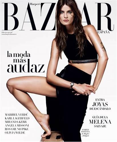 Fontana Isabeli Harper Bazaar Magazine Spain April