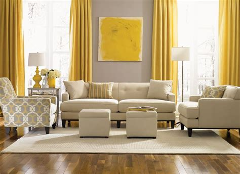 Blue Yellow And Beige Living Room by Beige Grey Walls Yellow Accents That I
