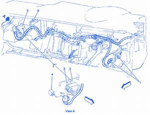 Opel Blazer 2 1997 Under Dash Electrical Circuit Wiring Diagram  U00bb Carfusebox