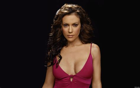 77 Alyssa Milano HD Wallpapers | Background Images ...