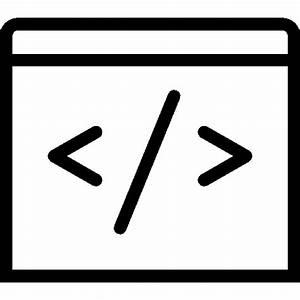 Very Basic Code Icon | iOS 7 Iconset | Icons8