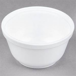 Dart Solo 10B20 10 Oz Insulated White Foam Bowl 50Pack