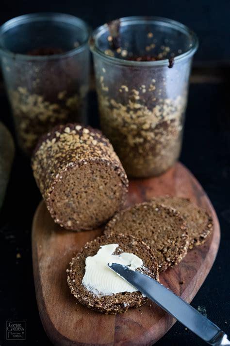 einwecken im glas rezept vollkornbrot im glas gebacken gernekochen de