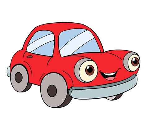 cartoon car how to draw a cartoon car easy step by step drawing guides