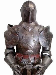 Armure mdivale de chevalier taille relle Coucy Meuble de Style