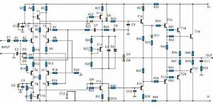 2800w High Power Amplifier Circuit  Updated