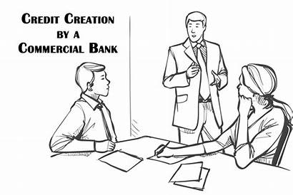 Commercial Bank Creation Credit Banking Kisspng Source