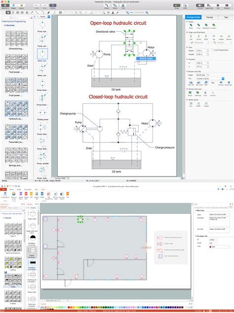 electrical drawing software and electrical symbols how to use house electrical plan software