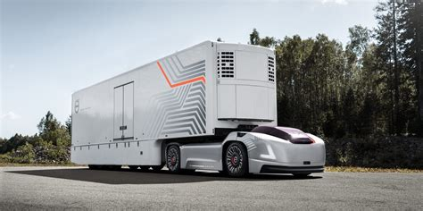 Volvo Unveils All-electric And Autonomous Truck Without A