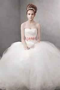 White by vera wang wedding dress style vw351007 onewedcom for White by vera wang wedding dress