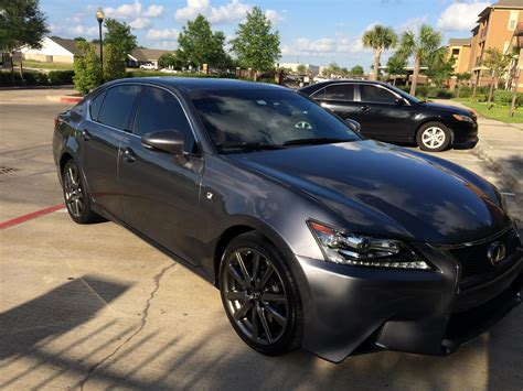lexus gray tx fs lease 2014 lexus gs350 f sport grey red houston tx