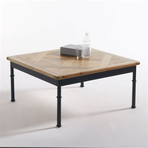 la redoute table cuisine table basse marquetée mosaïque naturel la redoute interieurs la redoute