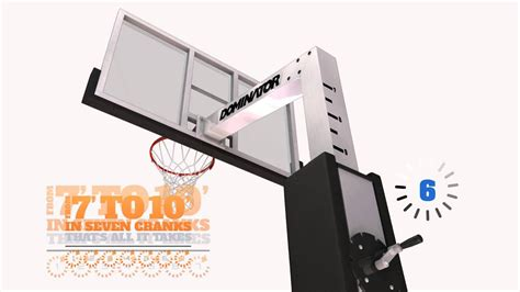 basketball hoop  dominator basketball hoop