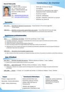 prã sentation design resume format présentation du cv