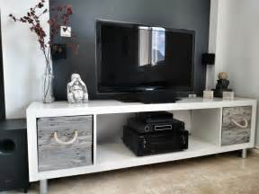 Ikea Expedit Bookcase Tv Stand by Ikea Tv Stand Designs You Can Build Yourself