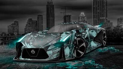 Anime Gtr Concept Nissan Aerography Tony Neon