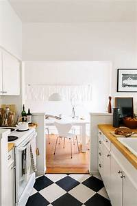 comment amenager une cuisine en longueur With petite cuisine en longueur