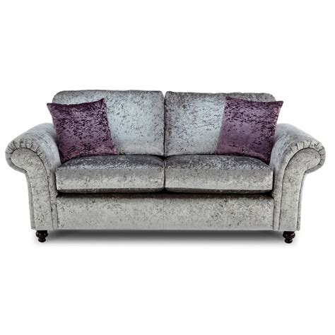 Velvet Sofa by Crushed Velvet Furniture Sofas Beds Chairs Cushions
