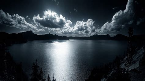 Crater Lake Background Hd