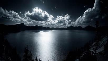 Crater Lake Background Wallpapers Crossing Animal Desktop