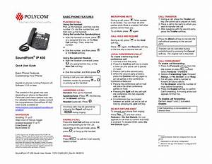 Download Free Pdf For Polycom Soundpoint Ip 450 Telephone Manual