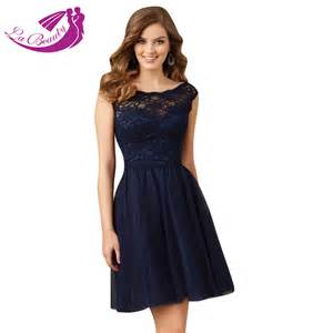 navy cocktail dress wedding navy blue cocktail dress bateau open back tulle lace dresses cocktail