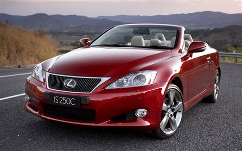 lexus cars red red convertible lexus cars