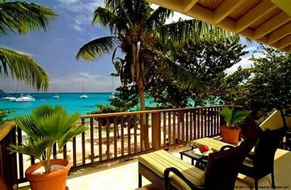 Tropical Beach Widescreen Landscape Wallpapers Desktop Terrace