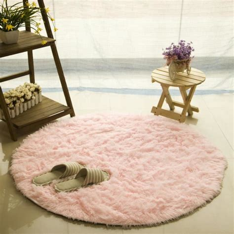 tapis rond rose achat vente tapis rond rose pas cher