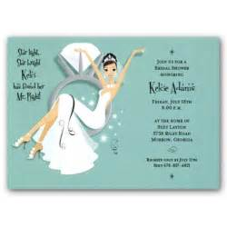 wedding shower invitations swinging ring bridal shower invitations paperstyle