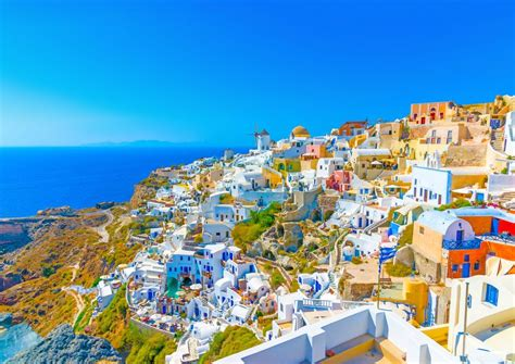Santorini Island Greeces Small Paradise On Earth