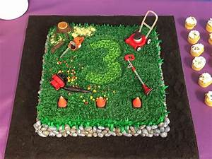 Landscaping Tools Birthday Cake - CakeCentral com