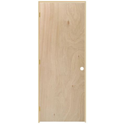 home depot hollow interior doors steves sons 36 in x 80 in flush hollow unfinished