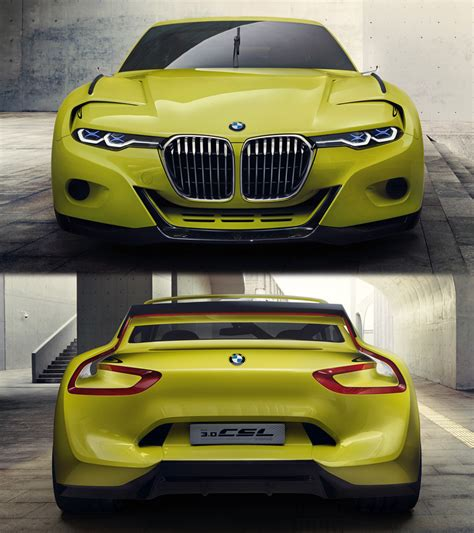 bmw  csl hommage concept specifications photo