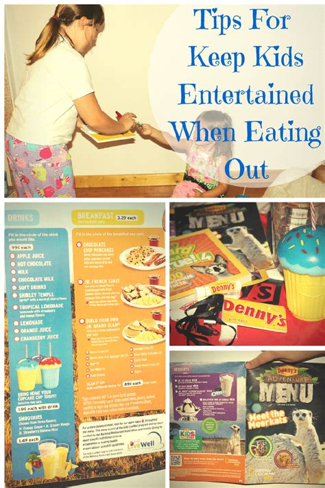 tips   kids entertained  eating
