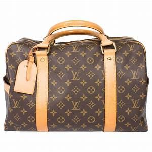 Louis Vuitton Weekender : louis vuitton carry all weekend bag brown canvas beige leather for sale at 1stdibs ~ Watch28wear.com Haus und Dekorationen