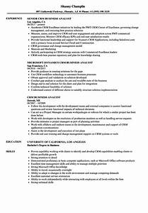 crm analyst resume idealvistalistco With crm business analyst resume