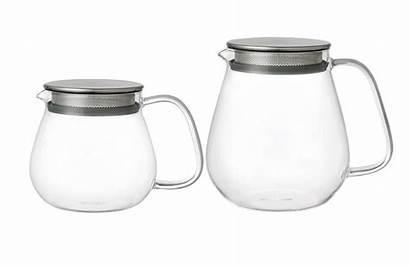 Teapot Glass Unitea Infuser Sleek Built