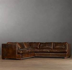 Easton leather sectionals found pinterest for Easton leather sectional sofa